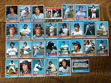 1976 TEXAS RANGERS Topps COMPLETE MLB Card Team Set 29 Cards PERRY JENKINS HOF's