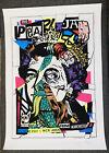PEARL JAM 2012 MANCHESTER UK AP SN  poster Vedder Mint