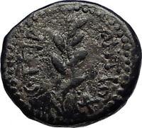 ANTIOCH Seleukis Roman Emperor NERO Time 66AD Ancient Greek Coin w APOLLO i67472