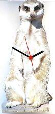Meerkat Design Wall Clock  Made In UK Gift Boxed