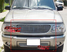 Fits 1999-2001 Ford Explorer Billet Grille Combo