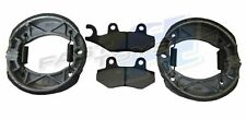 Genuine Quadzilla RAM R170 Front & Rear Brake Pads Drum Shoes Kit Set SMC 170cc