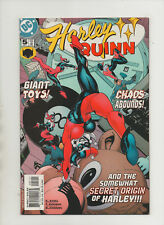 Harley Quinn #5 - The Somewhat Secret Origin Of Harley! - (Grade 9.2) 2001
