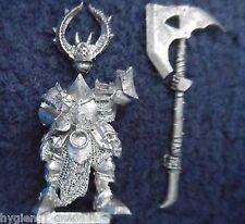 2008 caos Guerrero elegido 7 Citadel Warhammer army mal hordas Fighter campeón