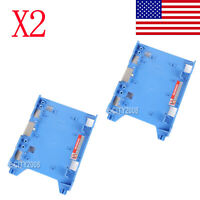 "2PCS 3.5"" to 2.5"" SSD Hard Drive Caddy Adapter For Dell OptiPlex 580 960 980 990"