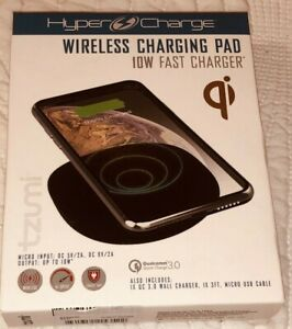 Tzumi HyperCharge Wireless Charging Pad  10W Qi for iPhone Samsung LG Google