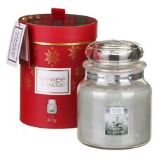 Yankee Candle Candela Giara Media White Fir Confezione Regalo Natale 2019