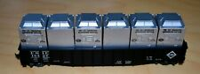 HO Flat Car Erie # 14428 Refrigerated Container Carrier