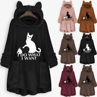 Women Winter Teddy Bear Pocket Fluffy Coat Fleece Fur Jackets Outerwear Pullover