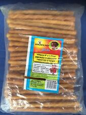 Porkhide - 6-7mm Twists x100 Case Of 20 Packets - Wholesaler Clearance Rawhide.