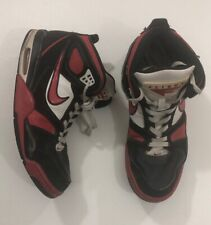 d57b2042 Nike Air Flight Falcon 397204- 066 Red/Black/White Basketball Shoes Size 11