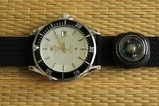 OLD STOCK TISSOT SEASTAR DSM3182 STAINLESS STEEL WHITE DIAL DIVERS WATCH BOX SET