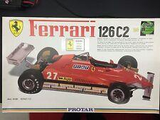 Protar Ferrari 126 C2  1/12 Scale Model Car Kit.