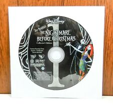 The Nightmare Before Christmas - Discs Only (DVD, 2-Disc Set)