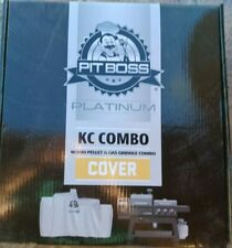 Pit Boss Platinum KC Combo Grill Cover, Fits KC Combo Platinum Series 73301 New