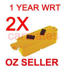 2X Battery For iRobot Roomba 400 3.0Ah Ni-MH TENERGY 11701 11709 4230 Scheduler
