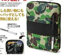 US SELLER A Bathing Ape Camo Travel Organizer Ipad Mini ID Case Wallet Pouch Bag
