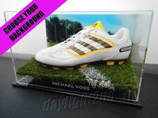 ✺Signed✺ MICHAEL VOSS Football Boot PROOF COA Brisbane Lions 2018 Guernsey