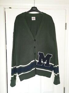 Art Gallery Clothing Mumper Letterman College Cardigan Large. Mod. Ivy League.
