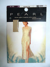 M&S Pearl Tights Denier 10 Size EX 4 UK 18 - 24 Natural Tan Lycra