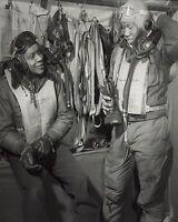 Tuskegee Airmen 332nd Fighter Group Pilot Italy 1945 8x10 World War II WW2 Photo