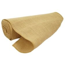 Burlap Hessian Roll Table Runner Cloth 36cm x 10m Jute Natural Fabric Material