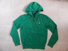 Polo Ralph Lauren Men Teddy Bear Fleece Hoodie Jacket Green - S