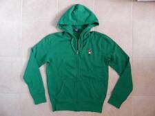 Polo Ralph Lauren Men Teddy Bear Fleece Hoodie Jacket Green - S