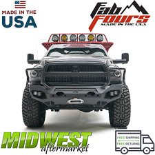 Fab Fours Matrix Front Bumper Full Guard Fits 2010-2018 Dodge Ram 2500 3500