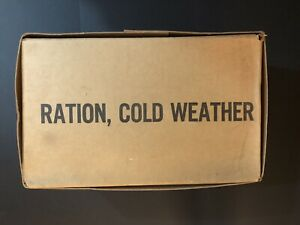 Ration cold weather - full unopened case RCW 1998 w/ sleeve