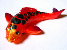 Jewled Crystal Eyes KOI, Fish Orange w/ Black Spots 3D Fridge Magnet New USA