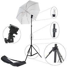 Kit d'éclairage Studio Trépied Douille Parapluie Sac pour Flash Cobra Esclave
