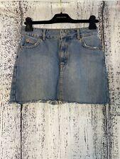 Talla 8 Topshop Azul Minifalda Vaquera