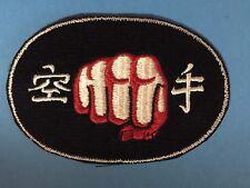 Rare 1970's TKD Taekwon Do Martial Arts Uniform Gi Jacket Hat Patch MMA 645
