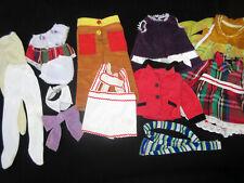 VINTAGE IDEAL VELVET DINA CRICKET DOLL LOT ORIGINAL CLOTHES-CRISSY FAMLY