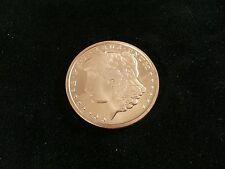 1 oz Morgan Silver Dollar Style .999 Fine Copper Round