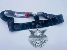 2017  Spartan Sprint Military-Series Finisher  Medal  w/o Trifecta Wedge