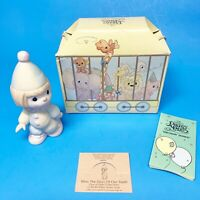 VINTAGE Precious Moments 1985 Bless The Days Of Our Youth 16004 - Original  Box!