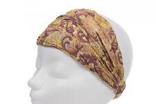 Noa Noa Haarband Grün Paisley Muster Kopftuch Haarband Stirnband