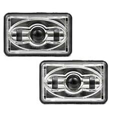 Eagle Lights 4 x 6 Chrome LED Headlights - Double Pack - LOW BEAM 2A1