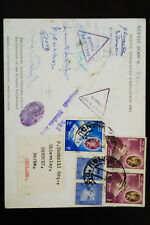 Nepal 1961 Himalayan Signed Expedition Stamped Cover