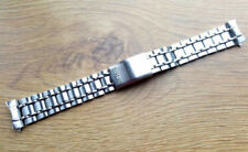 NEW 19MM SEIKO STAINLESS STEEL CURVED ENDS GENTS WATCH STRAP (SS-18)