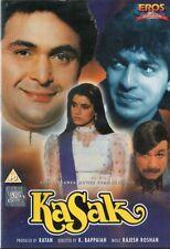 KASAK - RARE ON EROS BOLLYWOOD DVD LABEL - Rishi Kapoor, Neelam, Chanky Pandey.