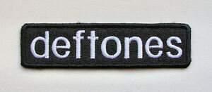 DEFTONES - Embroidered Patch /Korn Tool Faith No More Incubus Limp Bizkit Staind