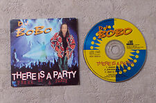 """CD AUDIO MUSIQUE INT / DJ BOBO """"THERE IS PARTY"""" 1995 CD SINGLE 3T DO IT MUSIC"""