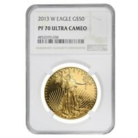 2013 W 1 oz $50 Proof Gold American Eagle NGC PF 70 UCAM