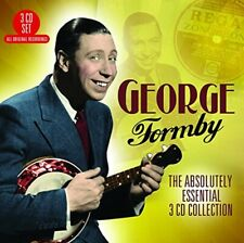 George Formby Absolutely Essential CD Collection New 2017