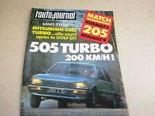 L AUTO JOURNAL - N° 5  - ANNEE  1983  *