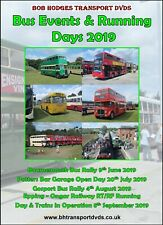More details for bus events & running days 2019 dvd