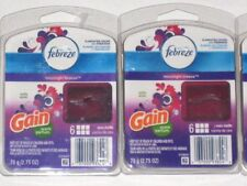 Febreze MOONLIGHT BREEZE Gain Scented Wax Melts 2 packages Air Freshener